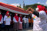 Komunitas Malioboro kompak kumandangkan Garuda Pancasila