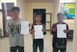 Bawa senjata tajam di seputaran Terminal Alas, tiga remaja digaruk polisi