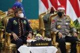 Kapolda Kalteng ikuti Harlah Pancasila bersama presiden secara virtual