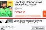 Netizen Indonesia jual eks Kiper AC Milan di online shop