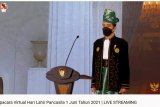 Presiden Jokowi: Gunakan cara luar biasa untuk mendalami nilai Pancasila