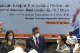 Sulawesi Utara ekspor komoditas pertanian senilai Rp78,6 miliar