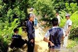 Dinas PUPR dan Pemdes  perbaiki Jembatan Sei Pandran