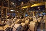PT Krakatau Steel berkomitmen tingkatkan produksi baja
