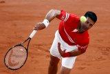 Djokovic melenggang di babak pertama French Open