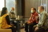 Kakanwil Kemenkumham Sulsel temui Kepala BKN IV Makassar bahas SKD Catar Poltekim-Poltekip