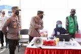 Polrestabes Semarang beri layanan vaksinasi COVID-19 secara lantatur