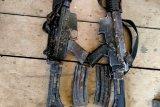 Dua senjata api SS1 milik Polri ditemukan di perbatasan RI-PNG