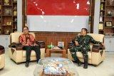 Wali Kota Makassar dan Pangdam XIV Hasauddin bahas penanganan COVID-19