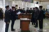 DPRD Agam gelar paripurn peresmian pemberhentian dan pengangkatan PAW anggota