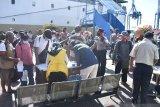 Tiga penumpang kapal positif COVID-19 setibanya di pelabuhan Jayapura