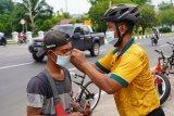 Denzibang edukasi prokes dan bagi masker kepada warga Palangka Raya