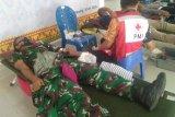Denpom II/3 Lampung gelar donor darah peringati HUT POMAD ke-75
