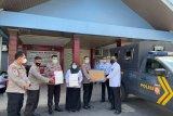 Polda Lampung bantu 1.000 alat rapid antigen kepada Lapas Bandarlampung