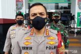 Lima orang simpatisan Rizieq Shihab diamankan polisi