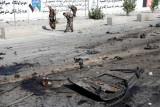 Ledakan di kota Kabul lukai dua warga sipil