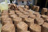 Produksi keranjang tembakau