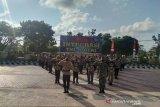 Tingkatkan sinergitas dan keamanan di Seruyan, TNI-Polri apel integrasi