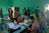 Pemerintah bersama TNI Polri launching perdana vaksin massal di Sembalun