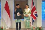 Dubes RI Desra Percaya serahkan surat kepercayaan kepada Ratu Inggris Elizabeth II