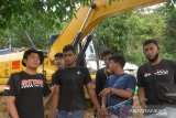 Polisi sita dua ekskavator beserta 11 pelaku penambang ilegal di Merangin Jambi