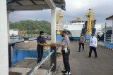 Dermaga Pelabuhan ASDP Lembar Lombok rusak ditabrak kapal feri