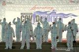 Peluncuran Satgas Pemburu COVID-19 Di Makasar