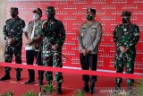 Panglima TNI tinjau pelaksanaan vaksinasi di  Cilacap