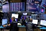 Wall Street Sabtu pagi berakhir naik setelah laporan pekerjaan AS redam ketakutan inflasi