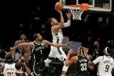 Brooklyn Nets rebut gim pertama semifinal  Wilayah Timur