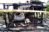 Polisi amankan mobil seorang wartawan korban pembakaran rumah di Aceh Tenggara