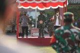 TNI-Polri pertebal dan perkuat  Posko PPKM Skala Mikro di Pekalongan