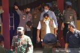Panglima TNI-Kapolri cek penanganan kasus COVID-19 di Kudus