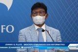 Menkominfo Jhonny Plate ajak jurnalis perkuat tiga tanggung jawab pers