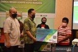 Korpri gandeng BPJAMSOSTEK lindungi ratusan pekerja rentan di Manado