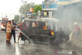 Usai isi BBM, mobil angkutan terbakar di Temanggung