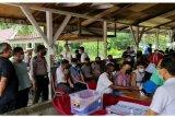 Pencari suaka politik di Pekanbaru  divaksin COVID-19