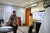 Wali Kota Makassar bersama BPKA Sulsel bahas lokasi jalur kereta api
