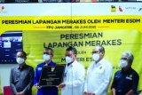 Pemerintah resmikan proyek pengembangan lapangan gas Merakes di Kalimantan Timur