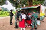 Satgas TNI di Merauke giatkan mobil pintar untuk anak perbatasan RI-PNG