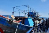 KKP amankan tujuh kapal tangkap ikan gunakan pukat harimau di Riau