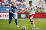 Pemanasan Euro 2020 - Polandia ditahan imbang Islandia 2-2