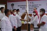 Rusliansyah kembali pimpin PMI Palangka Raya periode 2021-2026