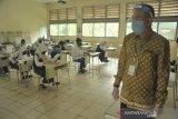 56 persen guru di Sumsel telah divaksin