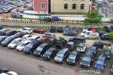 Polisi tangkap belasan tukang parkir di Kota Palembang karena lakukan pungli