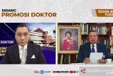 Putra Presiden keenam SBY Ibas Yudhoyono lulus cumlaude doktor IPB