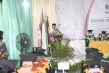 Wakil Bupati Waykanan hadiri wisuda kampus STAI Al-Maarif