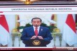 Jokowi beri selamat Megawati bergelar profesor kehormatan