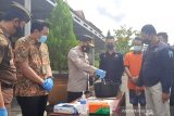 Polres Gunung Mas musnahkan 7,4 gram sabu