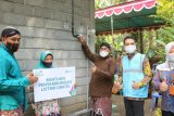 PLN UP3 Yogyakarta pasang listrik gratis untuk 50 KK di Kulon Progo